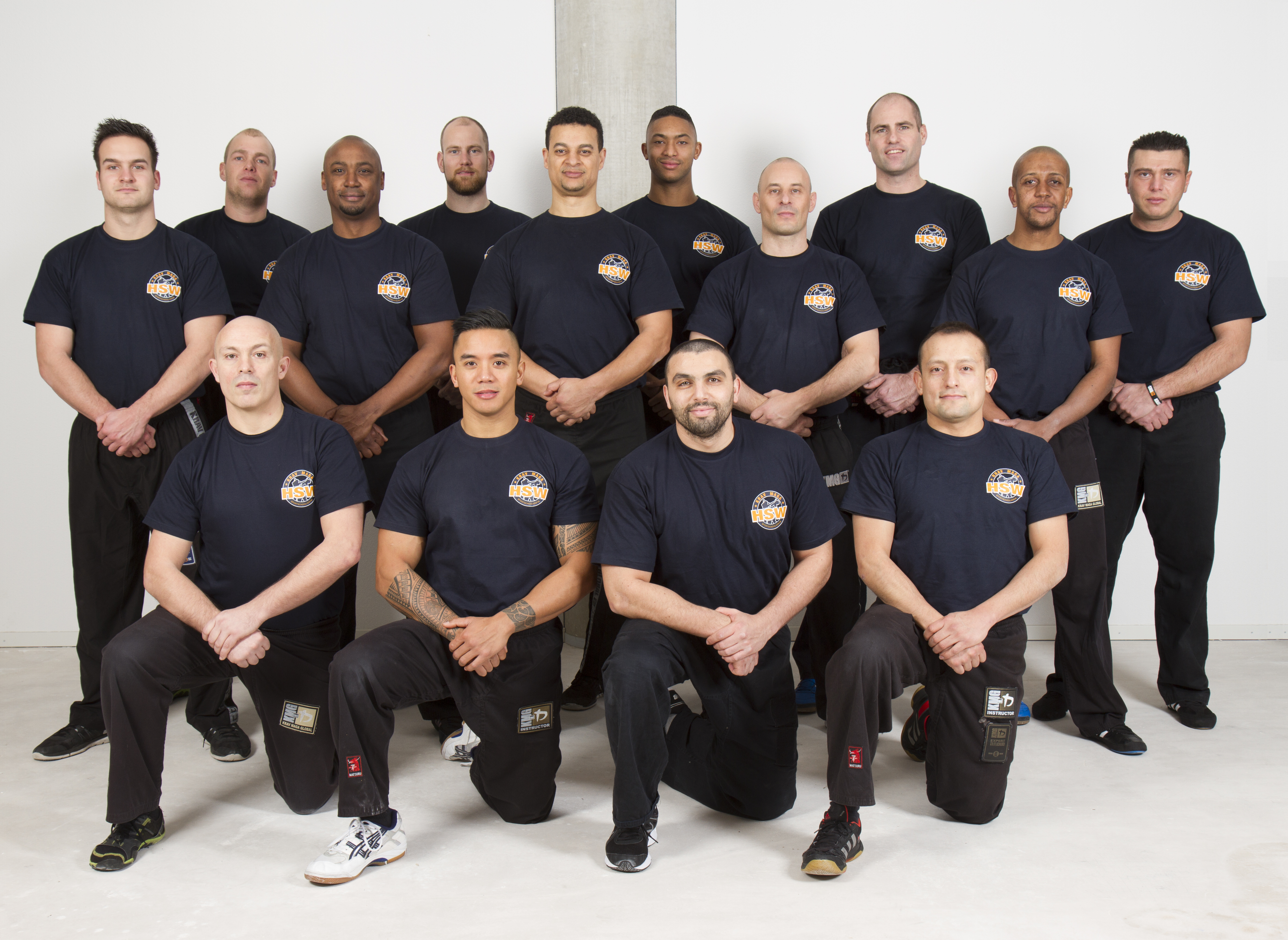 Krav Maga HSW instructeur team